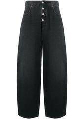 Maison Margiela high waisted wide leg jeans