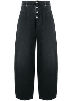 Maison Margiela high waisted wide leg jeans