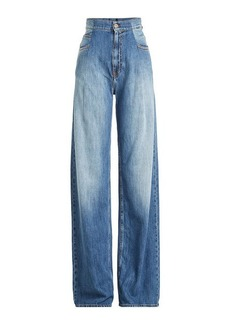 Maison Margiela High-Waisted Wide Leg Jeans