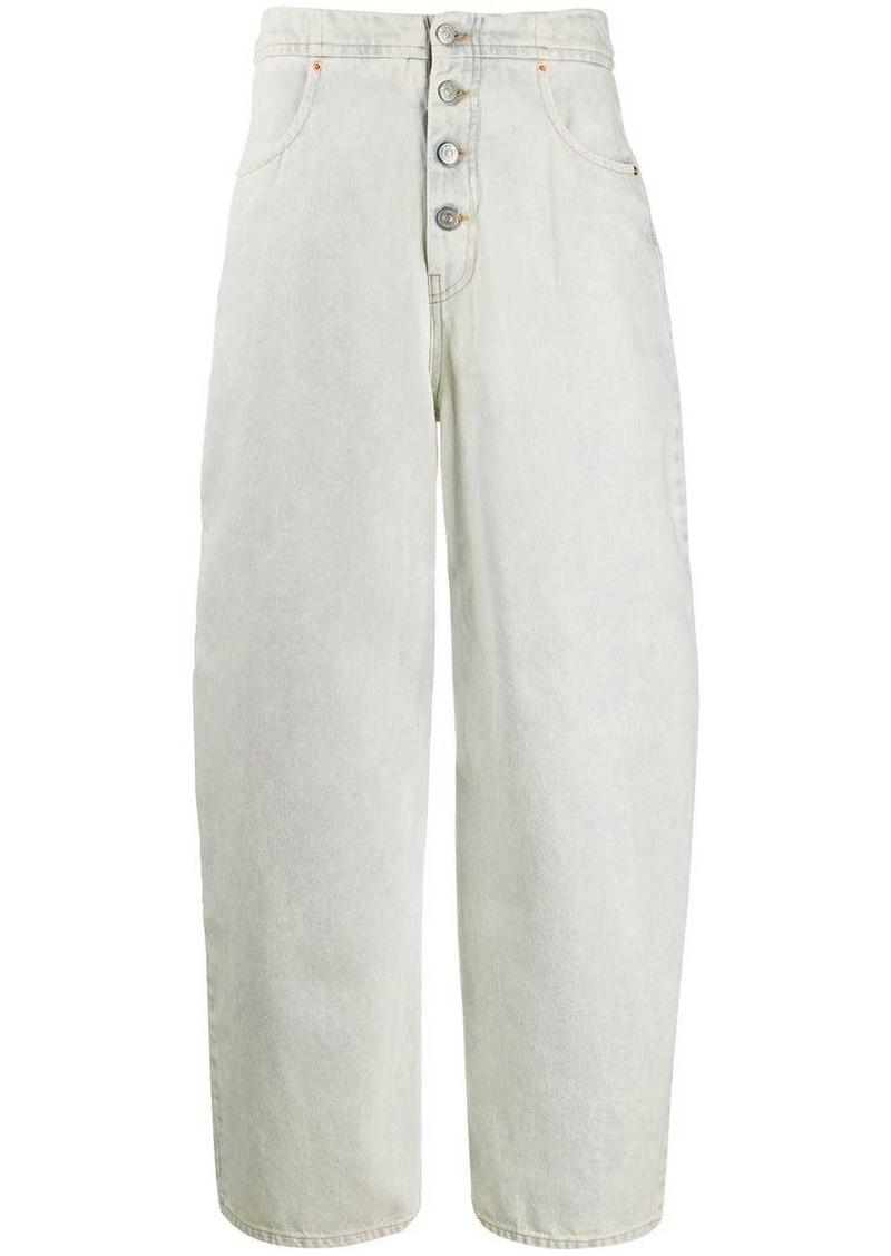 Maison Margiela high-waisted wide leg jeans