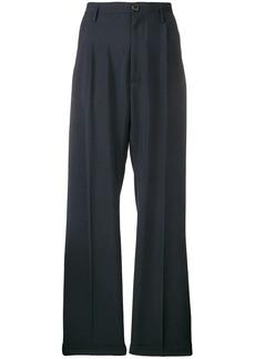 Maison Margiela high-waisted wide trousers