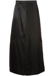 Maison Margiela high-waisted zip detail skirt