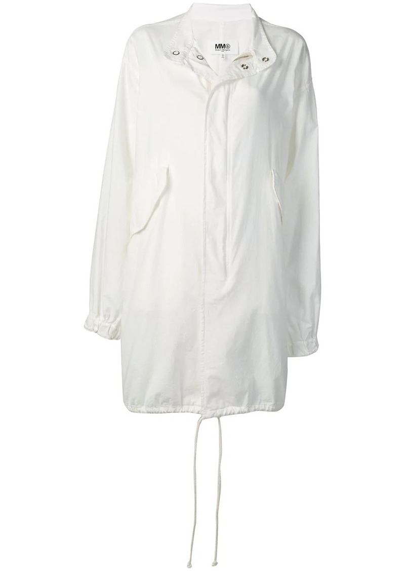 Maison Margiela hooded trench coat