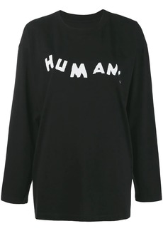 Maison Margiela Humans jersey top