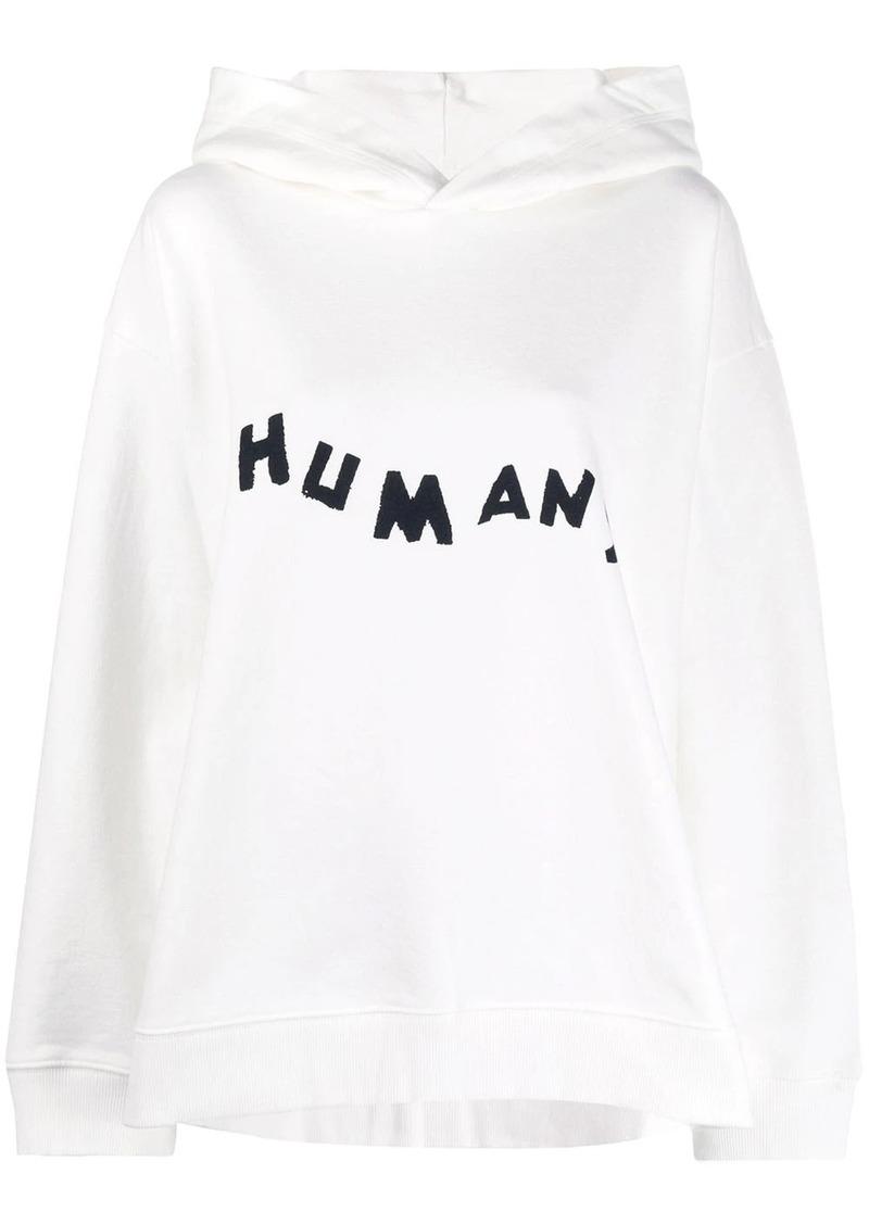 Maison Margiela HUMANS print hoodie