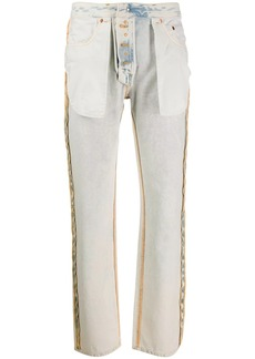 Maison Margiela inside-out jeans