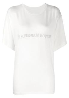 Maison Margiela inside out logo T-shirt