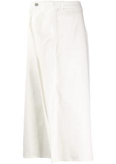 Maison Margiela inverted pleat skirt
