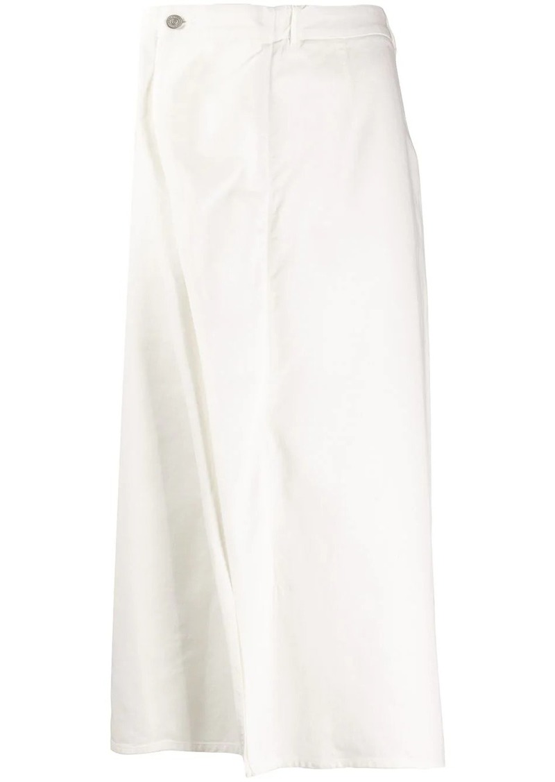 Maison Margiela inverted pleat skirt