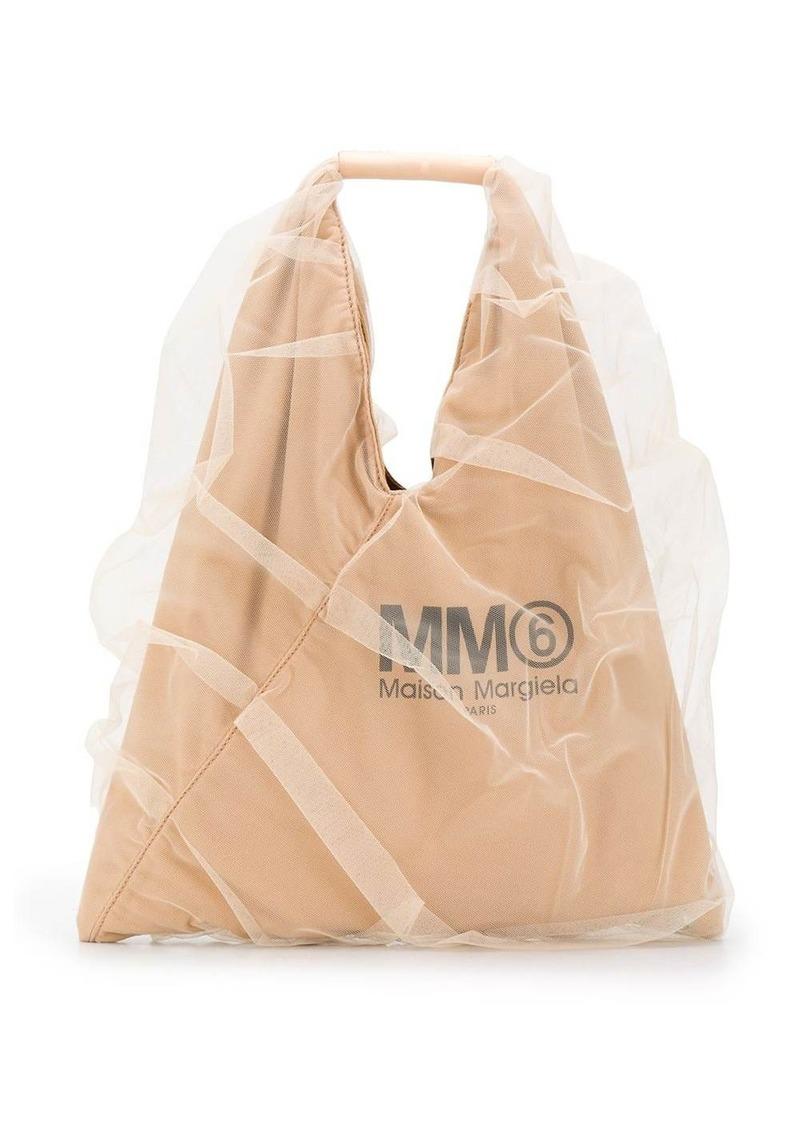 Maison Margiela Japanese tulle tote bag