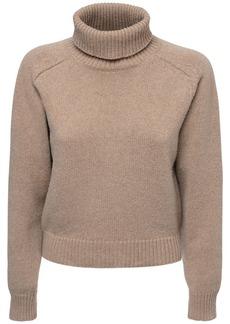 Maison Margiela Knit Wool & Alpaca Turtleneck Sweater