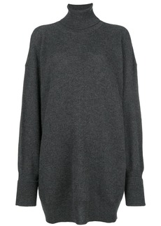 Maison Margiela knitted turtle neck dress