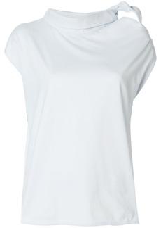 Maison Margiela knot collar sleeveless top