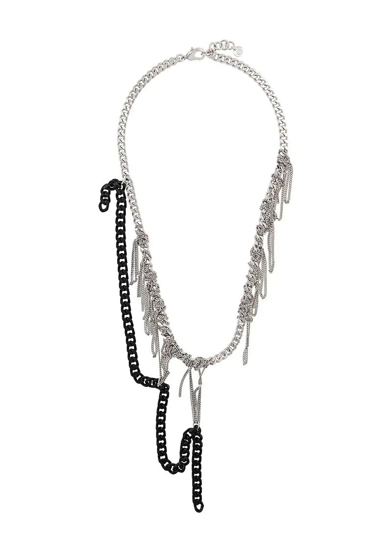 Maison Margiela knotted chain necklace