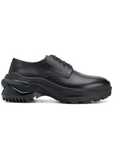 Maison Margiela lace-up ridged sole shoes