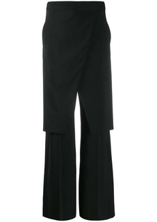 Maison Margiela layered straight-leg trousers
