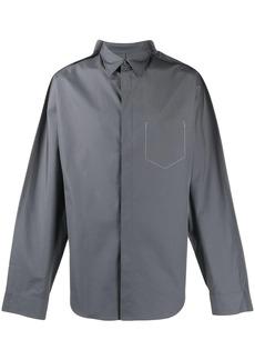 Maison Margiela layered style shirt