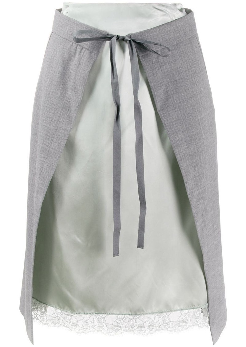 Maison Margiela lingerie skirt