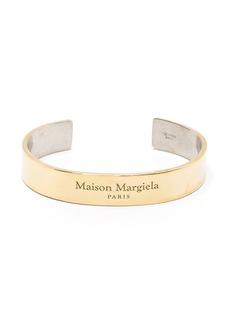 Maison Margiela logo embossed cuff