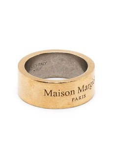 Maison Margiela logo embossed ring