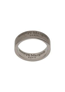 Maison Margiela logo engraved ring