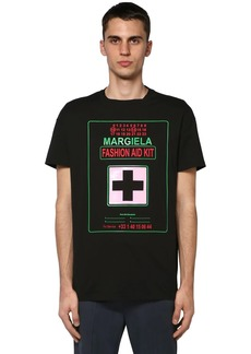 Maison Margiela Logo Fashion Aid Kit Jersey T-shirt