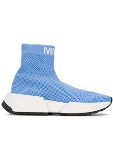 Maison Margiela logo mesh sock sneakers