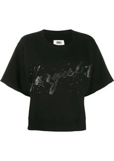 Maison Margiela logo oversized T-shirt