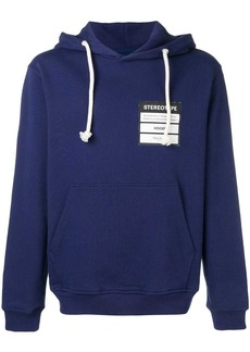 Maison Margiela logo patch hoodie