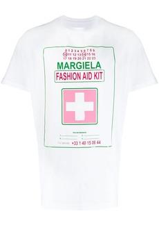 Maison Margiela logo patch T-shirt