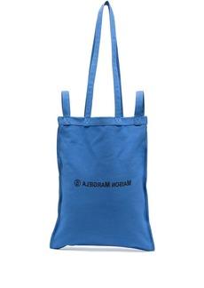 Maison Margiela logo-print tote bag