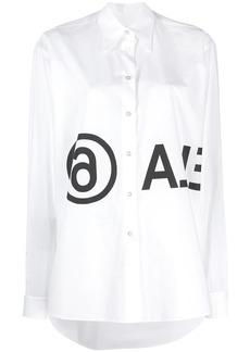 Maison Margiela logo printed shirt