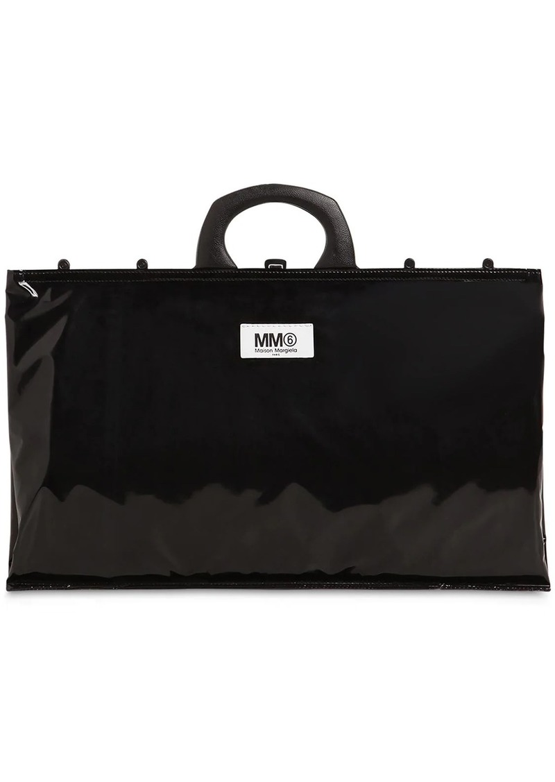 Maison Margiela Logo Pvc Shopping Bag