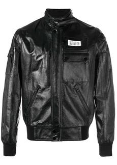 Maison Margiela logo tab jacket