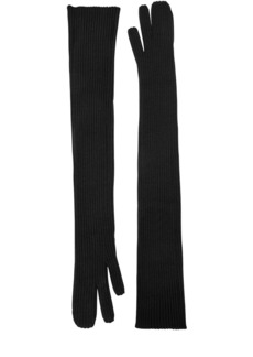 Maison Margiela Long Rib Knit Gloves