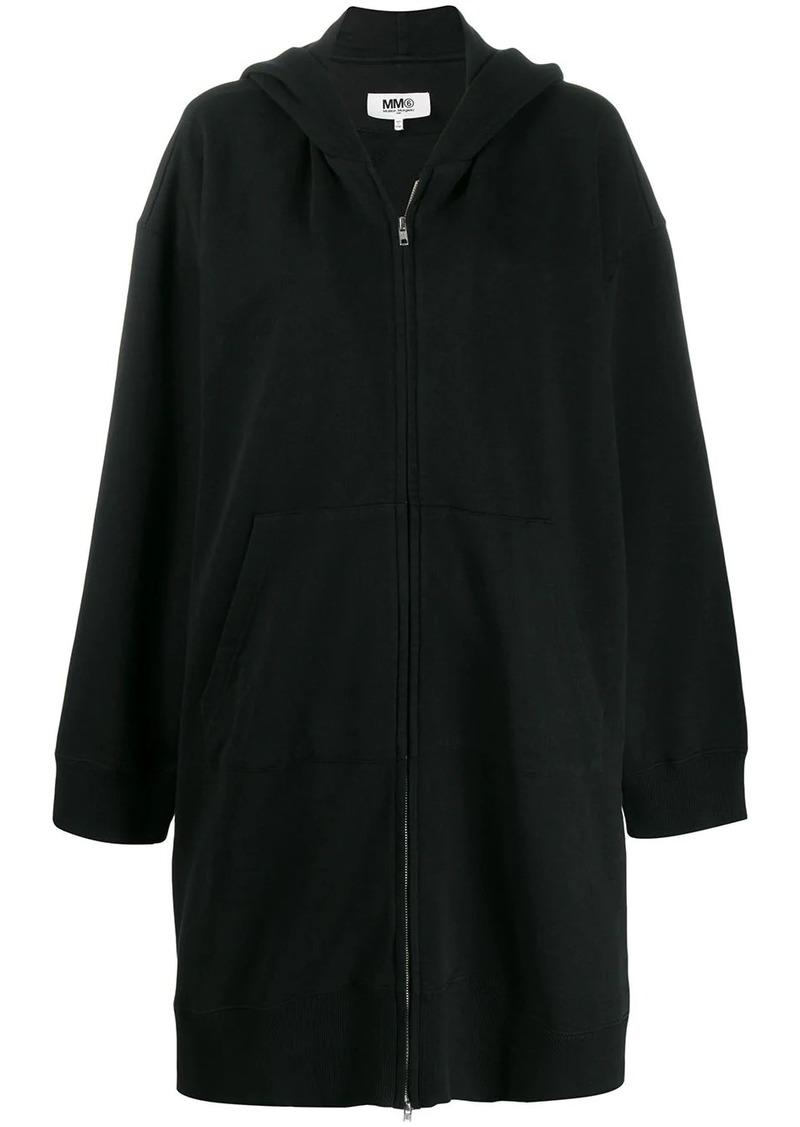 Maison Margiela long zipped hoodie