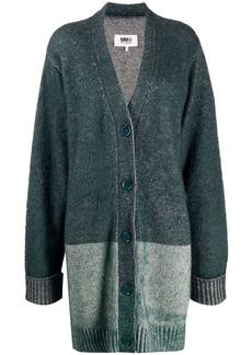 Maison Margiela longline knitted cardigan