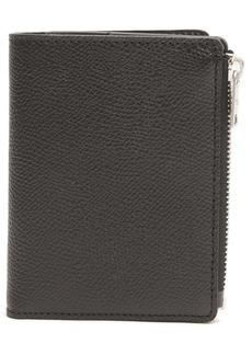Maison Margiela 4-Stitch Grainy Leather Wallet
