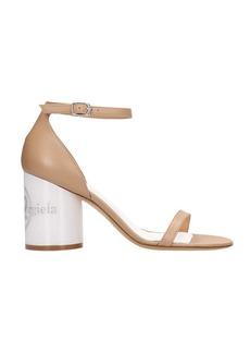 Maison Margiela Beige Leather Sandals