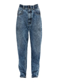 Maison Margiela Belted Rigid High-Rise Belted Jeans