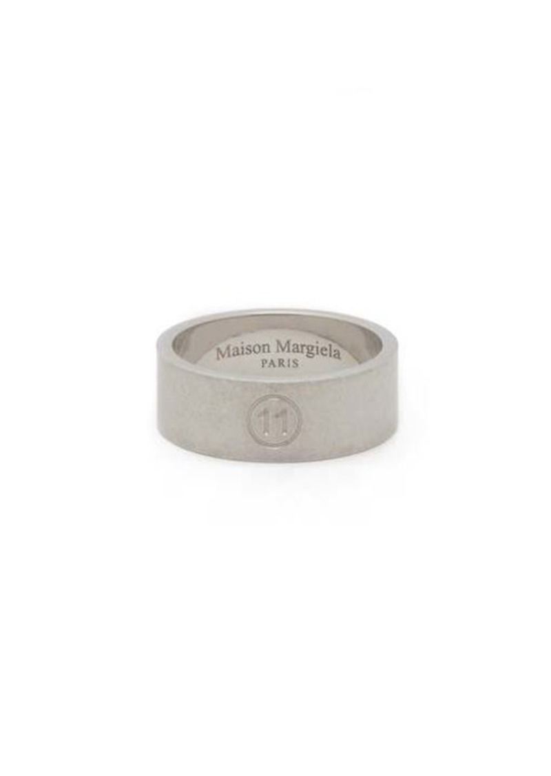 Maison Margiela Brushed sterling-silver ring