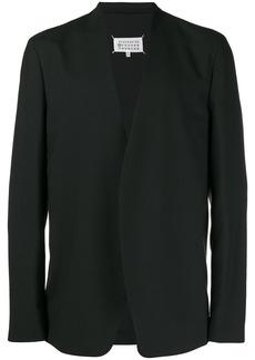 Maison Margiela collarless fitted blazer