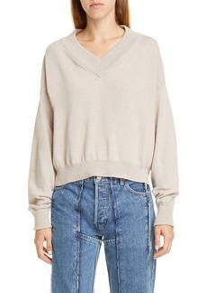 Maison Margiela Convertible Wool Sweater