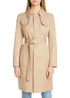 Maison Margiela Cotton Canvas Belted Trench Coat