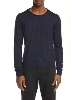Maison Margiela Crewneck Wool & Cotton Sweater