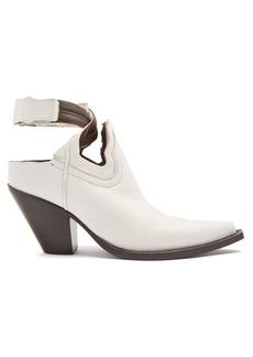 Maison Margiela Cut-out leather boots