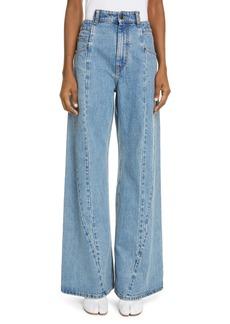 Maison Margiela Décortiqué Wide Leg Jeans