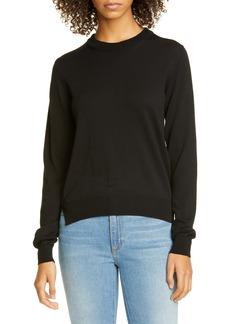 Maison Margiela Elbow Patch Cotton Sweater
