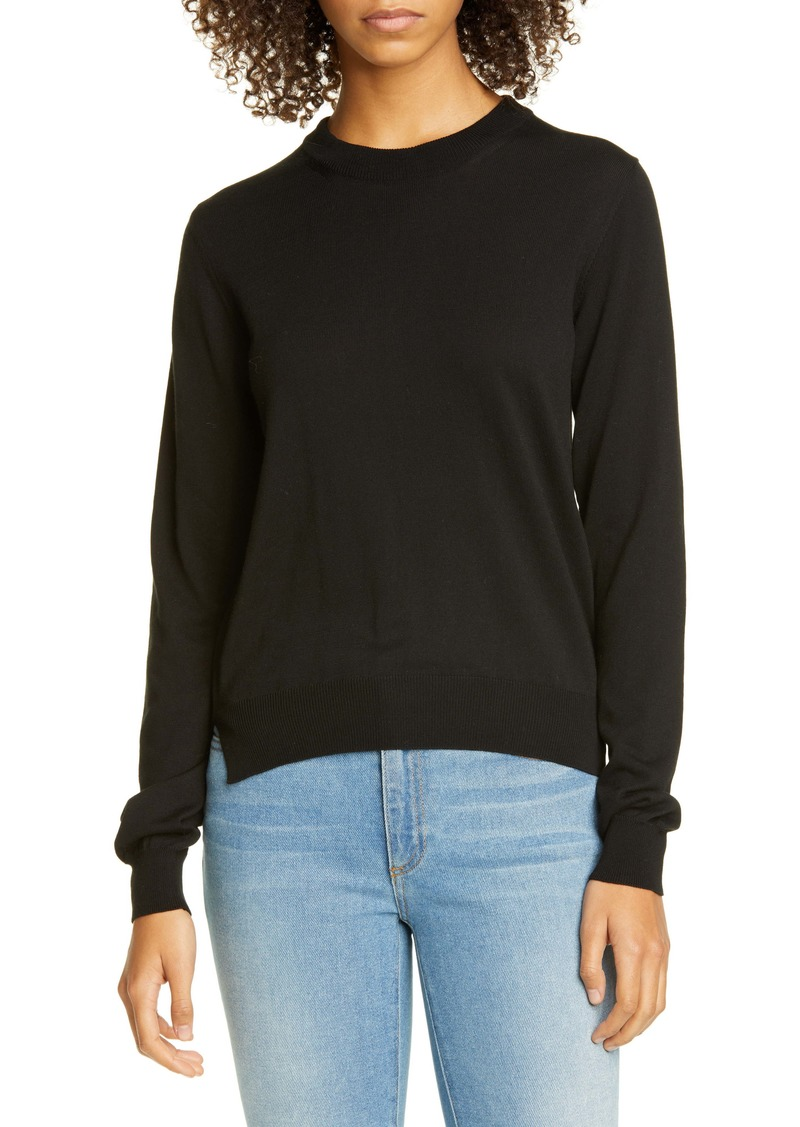 Maison Margiela Elbow Patch Cotton Sweater