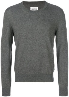 Maison Margiela elbow patch crew jumper